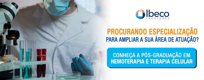 pós-graduação em hemoterapia e terapia celular