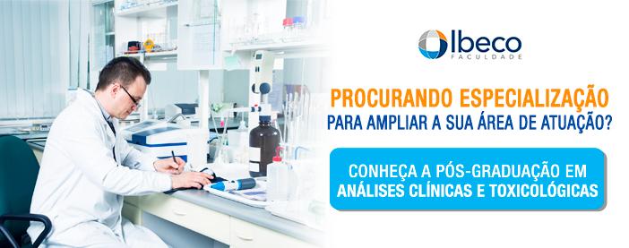 pós-graduação em análises clínicas e toxicológicas